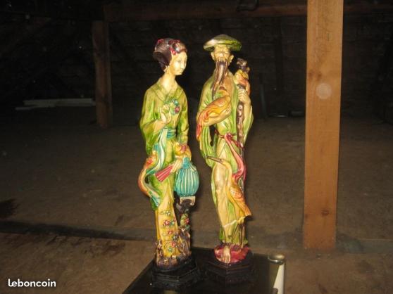 2 statuettes chinoises - Annonce gratuite marche.fr