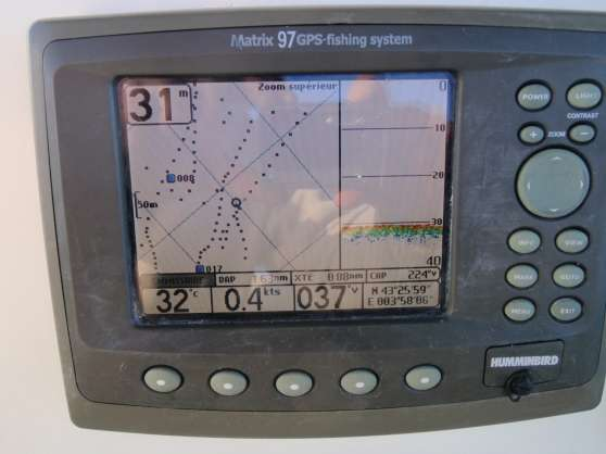 gps sondeur humminbird matrix 97 nautisme nautisme. Black Bedroom Furniture Sets. Home Design Ideas