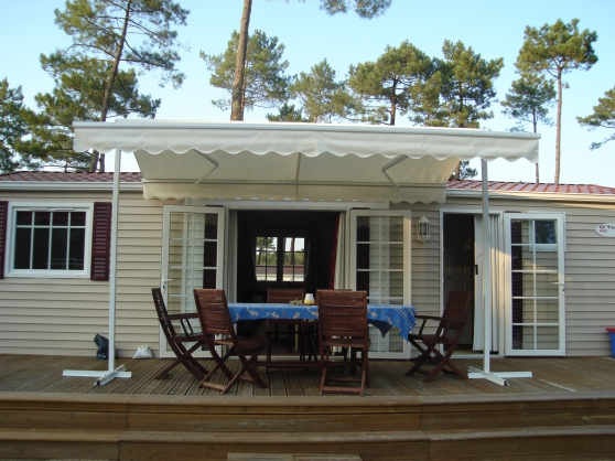 Mobile-home dans village 4 étoiles(40)