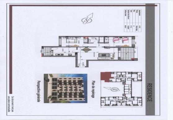 Appartement Cite AFH Mrezgua 3m289