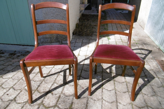 Annonce occasion, vente ou achat 'Chaises style Louis Philippe'