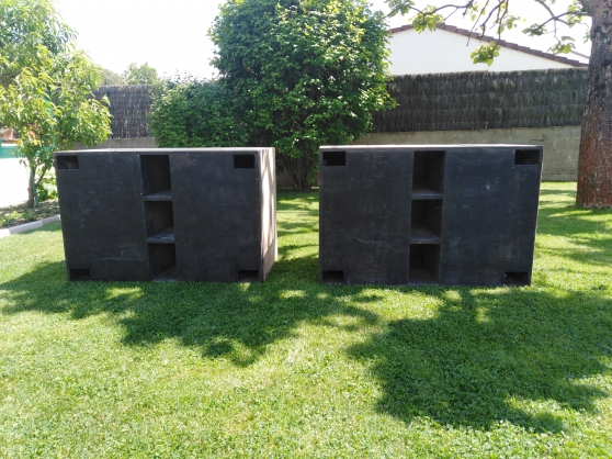 caissons double 46cms vide