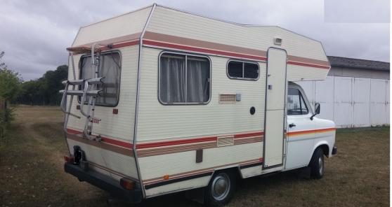 Camping-car Ford Autostar 159000km1984