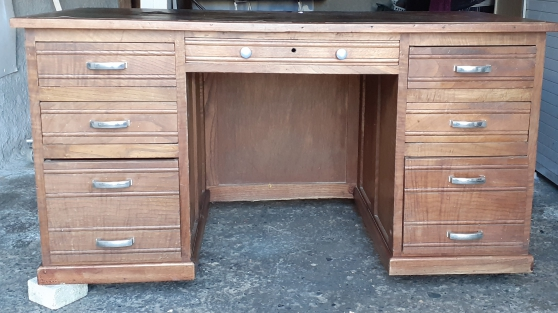 bureau bois macif