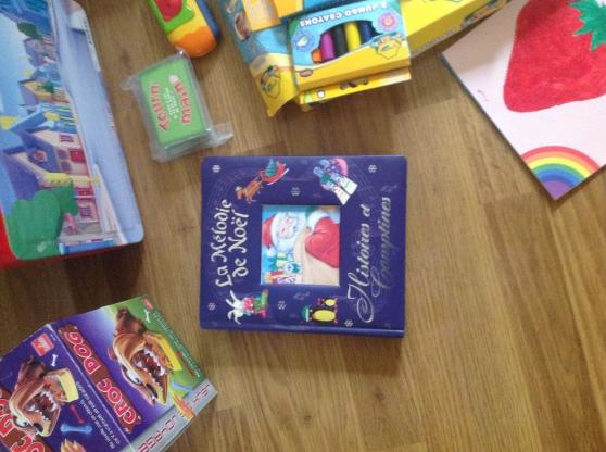 Jeux et jouets livres