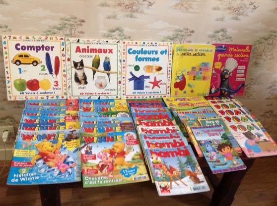 Des livres et des jeux pour enfant