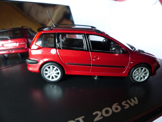 PEUGEOT 206 SW NOREV 1/43ème - Photo 1