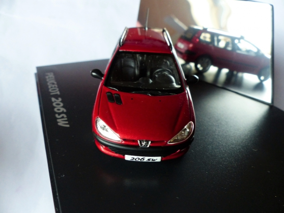 PEUGEOT 206 SW NOREV 1/43ème - Photo 2