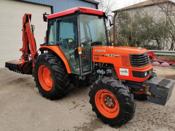 Tracteur à roues KUBOTA ME 5700