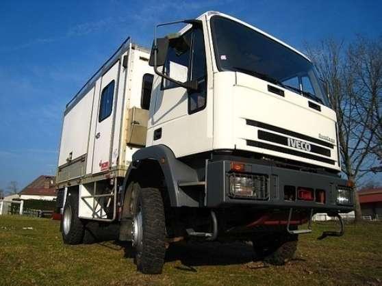 camion iveco eurocargo 4x4 95 e15 acon caravanes camping car camping car acon reference. Black Bedroom Furniture Sets. Home Design Ideas