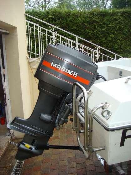 vends moteur mariner 60 cv pour pieces nautisme moteurs