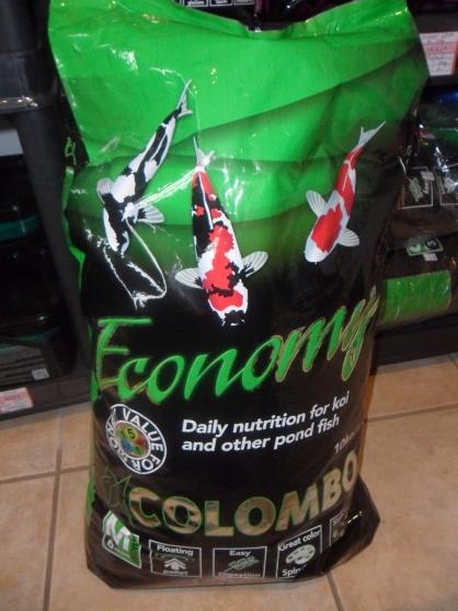 Colombo koi food