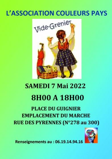 Vide-Grenier Couleurs Pays 05/06 Paris20