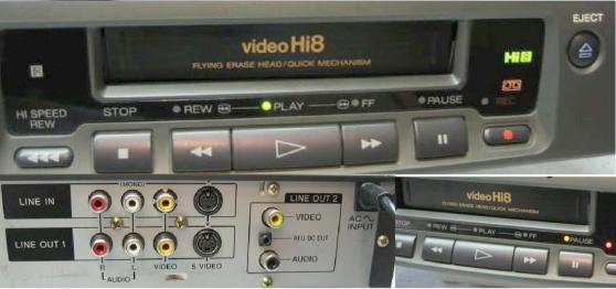 Magnétoscope Hi8 et vidéo8 SONY EV-C400 - Photo 2