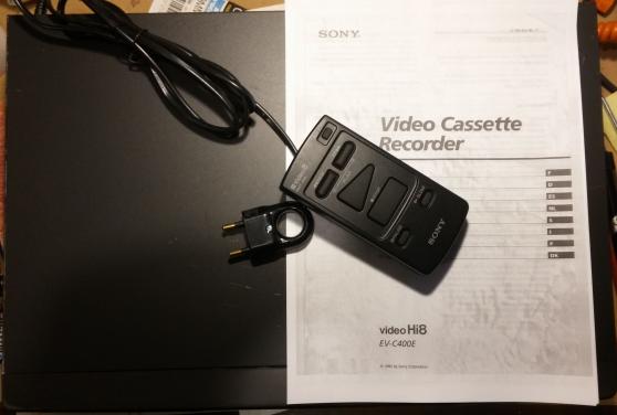 Magnétoscope Hi8 et vidéo8 SONY EV-C400 - Photo 3