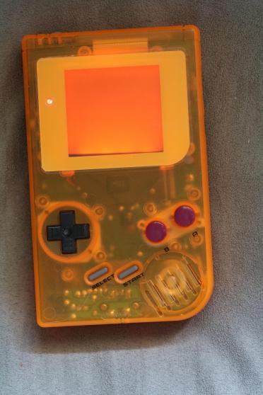 Nintendo gameboy dmg backlight custom