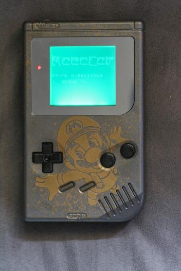 Nintendo gameboy dmg custom backlight