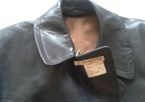 veste en cuir totenkopf origine (kl dach - Annonce gratuite marche.fr