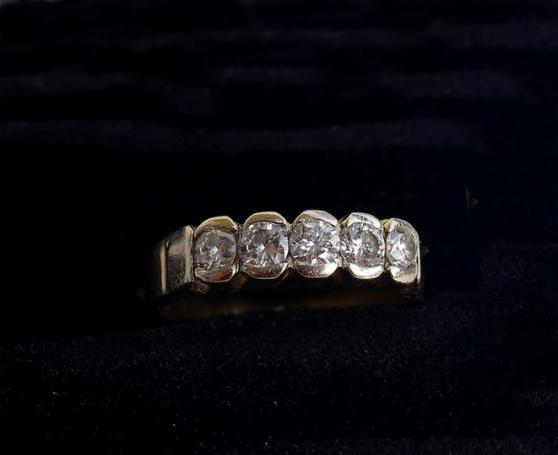 alliance or et diamants total 0,55 carat - Annonce gratuite marche.fr