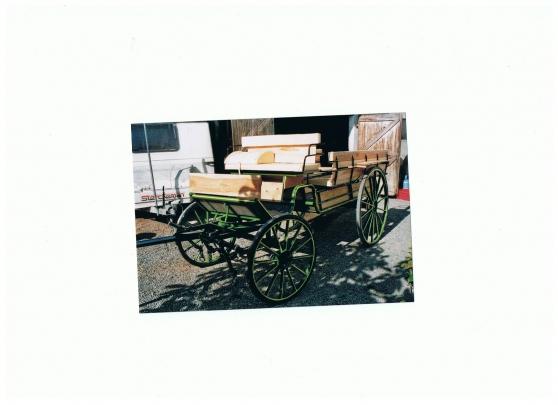 voiture hippomobile caléche - Photo 2