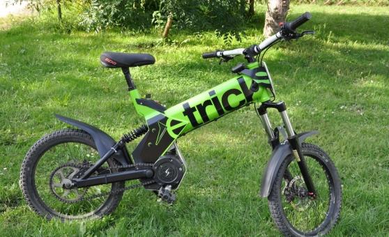 Annonce occasion, vente ou achat 'Vélo electrique SEV Etricks Offroad'