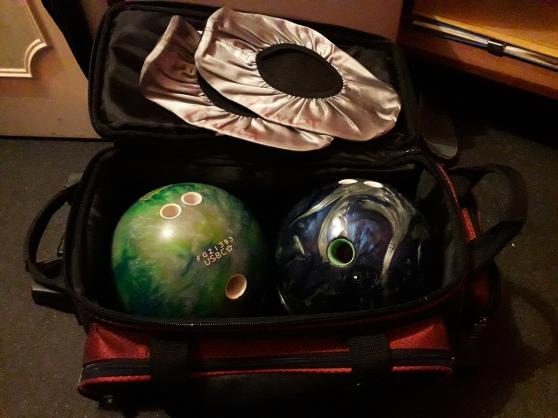 Annonce occasion, vente ou achat 'Boule de bowling TRACK Paradox + TZONE'