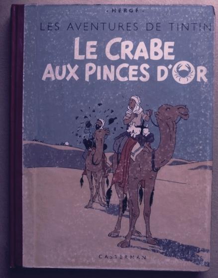 Annonce occasion, vente ou achat 'ALBUM TINTIN LE CRABE EO 1943 C 500'