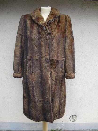 Manteau de fourrure en vison