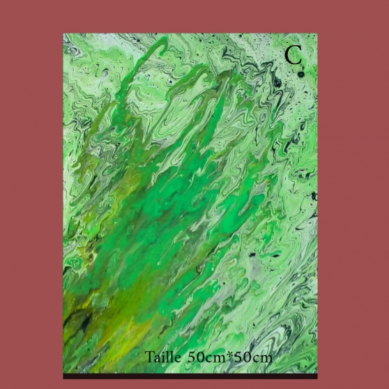 Annonce occasion, vente ou achat 'Peinture acrylique 50*50'