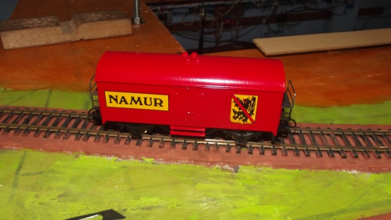 Annonce occasion, vente ou achat 'Train HO Jouef Marklin Wagons couvert NA'