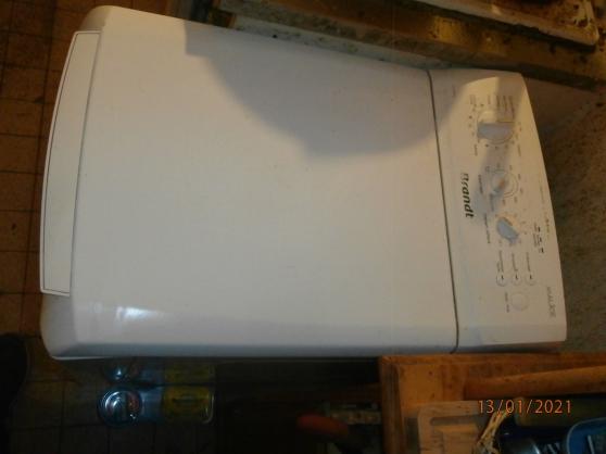 Annonce occasion, vente ou achat 'Vends machine à laver 6 kgs Brandt ...'