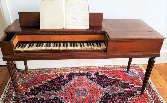Piano carré de la renommée maison ERARD