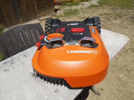 Annonce occasion, vente ou achat 'Tondeuse à gazon robot LANDROID M'