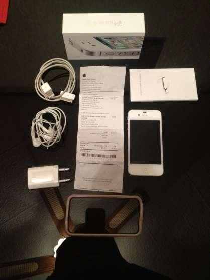 iphone 4s 32giga blanc débloqué - Annonce gratuite marche.fr