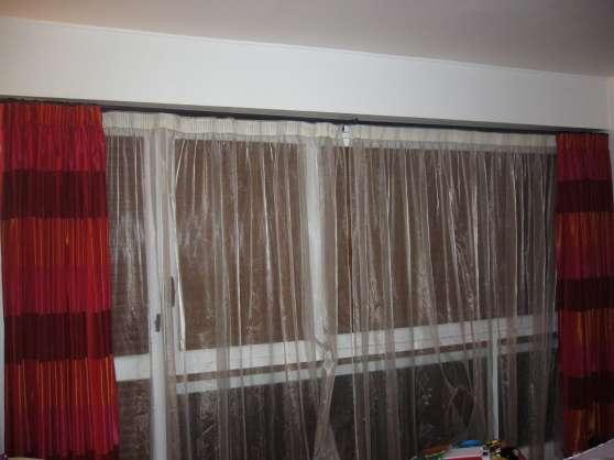 rideaux et voilages barres et anneaux boussy st antoine meubles d coration rideaux. Black Bedroom Furniture Sets. Home Design Ideas