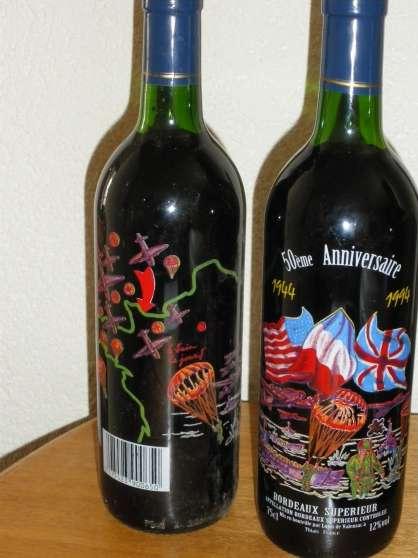 3 Bouteilles de vin de bordeaux