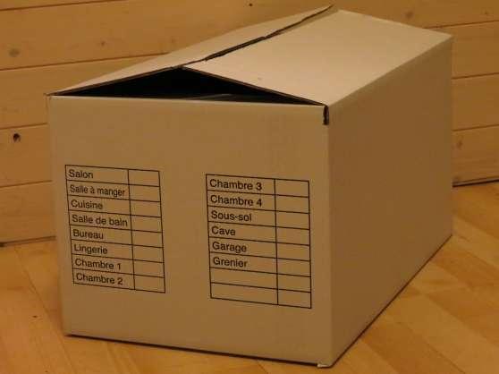 cartons de déménagement - Annonce gratuite marche.fr