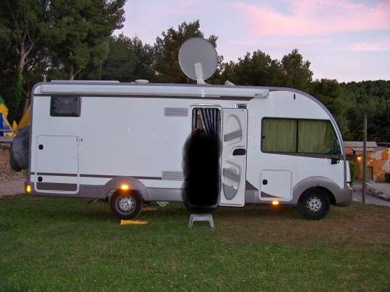 camping car itineo td 690 int gral perpignan caravanes camping car camping car perpignan. Black Bedroom Furniture Sets. Home Design Ideas