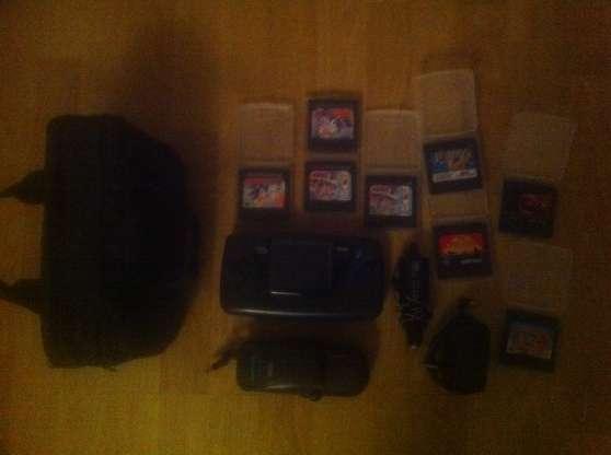Sega Game Gear TBE + Jeux