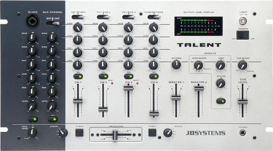 Table de Sono Mixage JBSYSTEMS