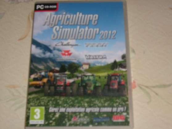 jeux sur pc: agriculture simulator 2012 - Annonce gratuite marche.fr