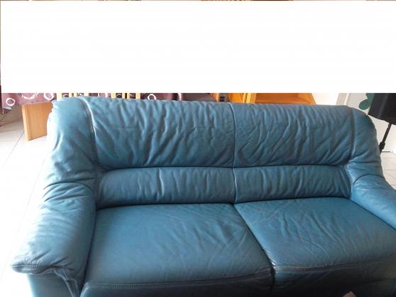 canapé cuir vachette 3 places
