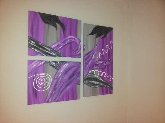 Annonce occasion, vente ou achat 'tableau abstrait contemporain'