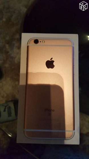 Annonce occasion, vente ou achat 'Iphone 6s 16GB rose doré'