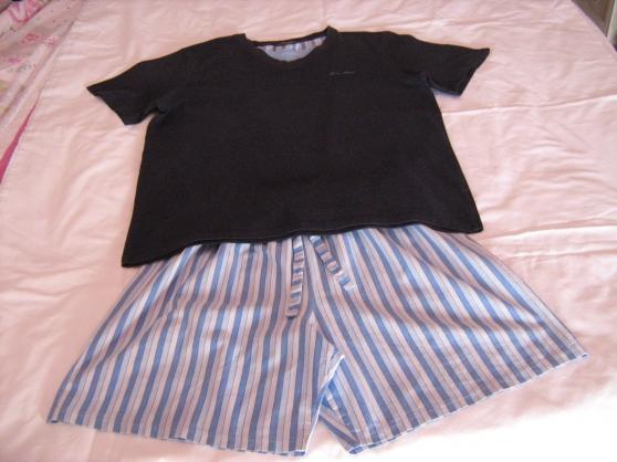 pyjashort rayé - Annonce gratuite marche.fr