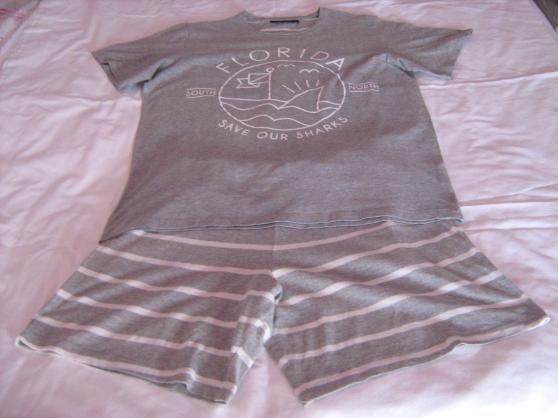 pyjashort gris - Annonce gratuite marche.fr