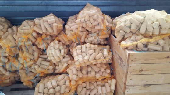 Vente briquettes de bois densifiées