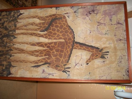 cadre girafes