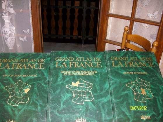 Annonce occasion, vente ou achat 'Livre Grand Atlas'