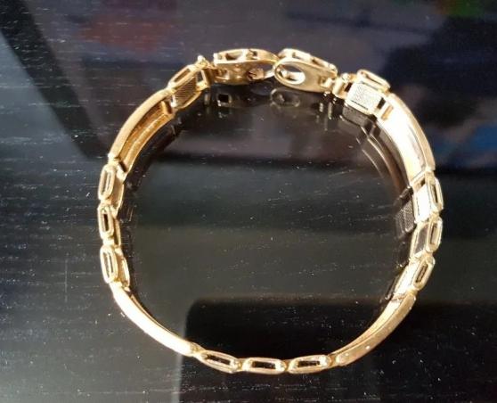 Magnifique gourmette bracelet or